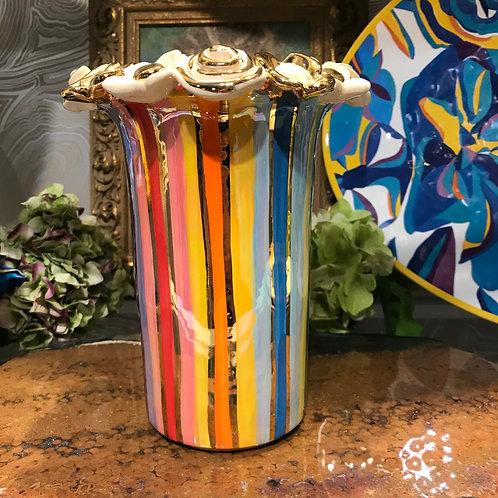 Mary Rose Medium Cylinder Vase