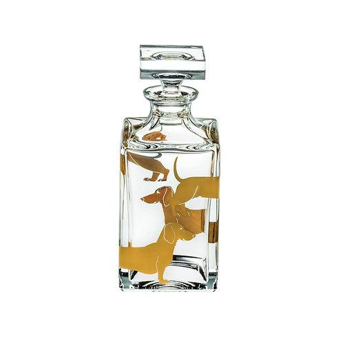 Vista Alegre Dachshund Whiskey Decanter