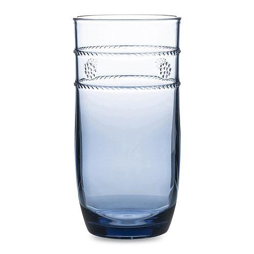 Isabella Acrylic Blue Large Beverage