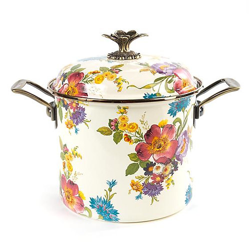 Mackenzie Childs Flower Market 7 Qt. Stockpot