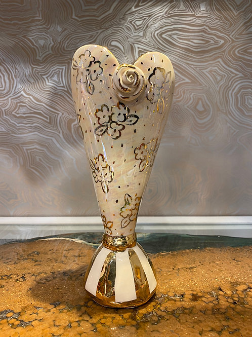 Mary Rose Heart Vase