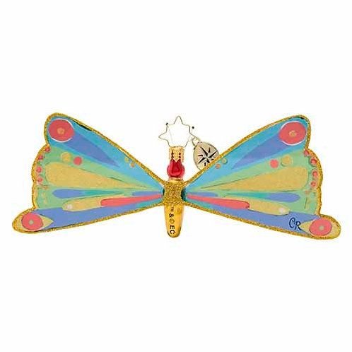 Christopher Radko Butterfly From The Cocoon Ornament