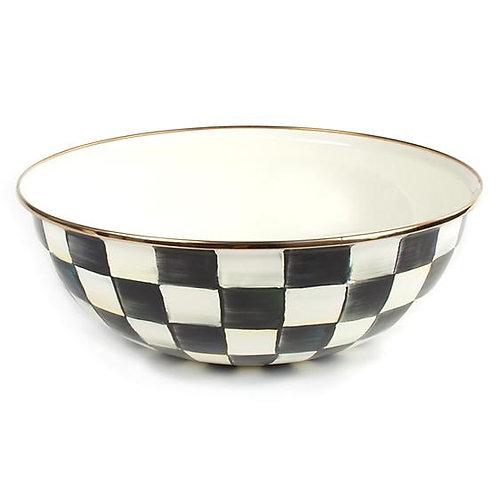 Courtly Check Enamel Everyday Bowl - Extra Large