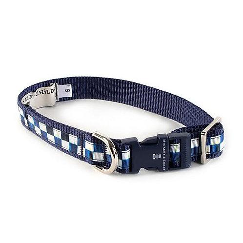 MacKenzie-Childs Royal Check Pet Collar