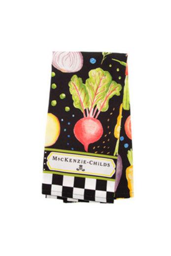 MacKenzie-Childs Radish & Root Dish Towel