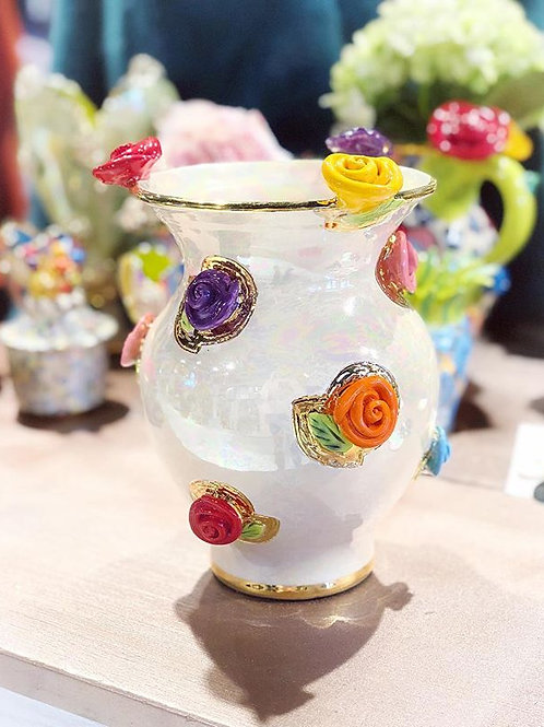 MRY Rose Studded Vase