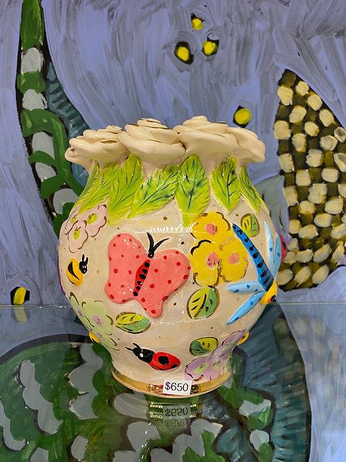 Mary Rose Young Cauldron Vase