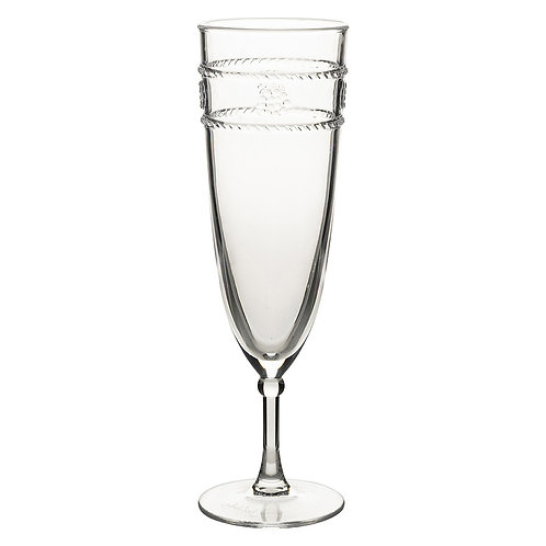 Isabella Acrylic Champagne Flute