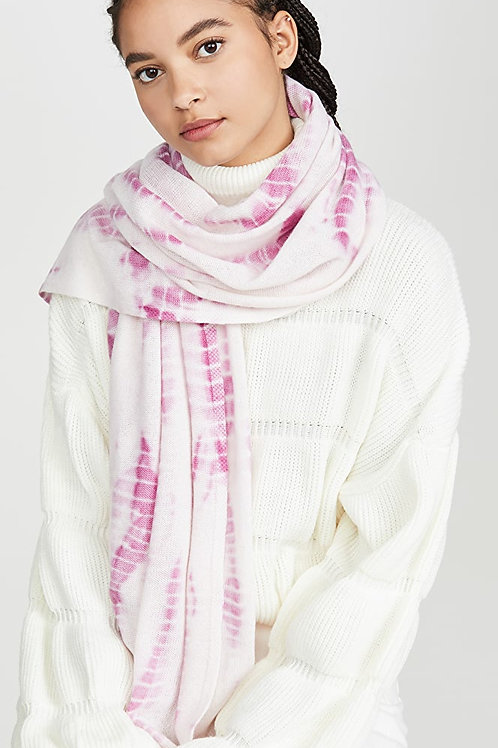 White + Warren Tie Dye Mini Travel Wrap