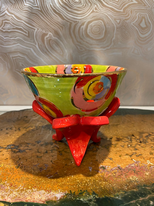 Mary Rose Heart Footed Bowl