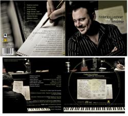 Federico Lechner & Tango Jazz Trío- Package Design