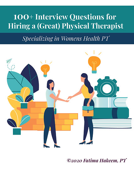 100+ Interview Questions for Hiring a (Great) Physical Therapist