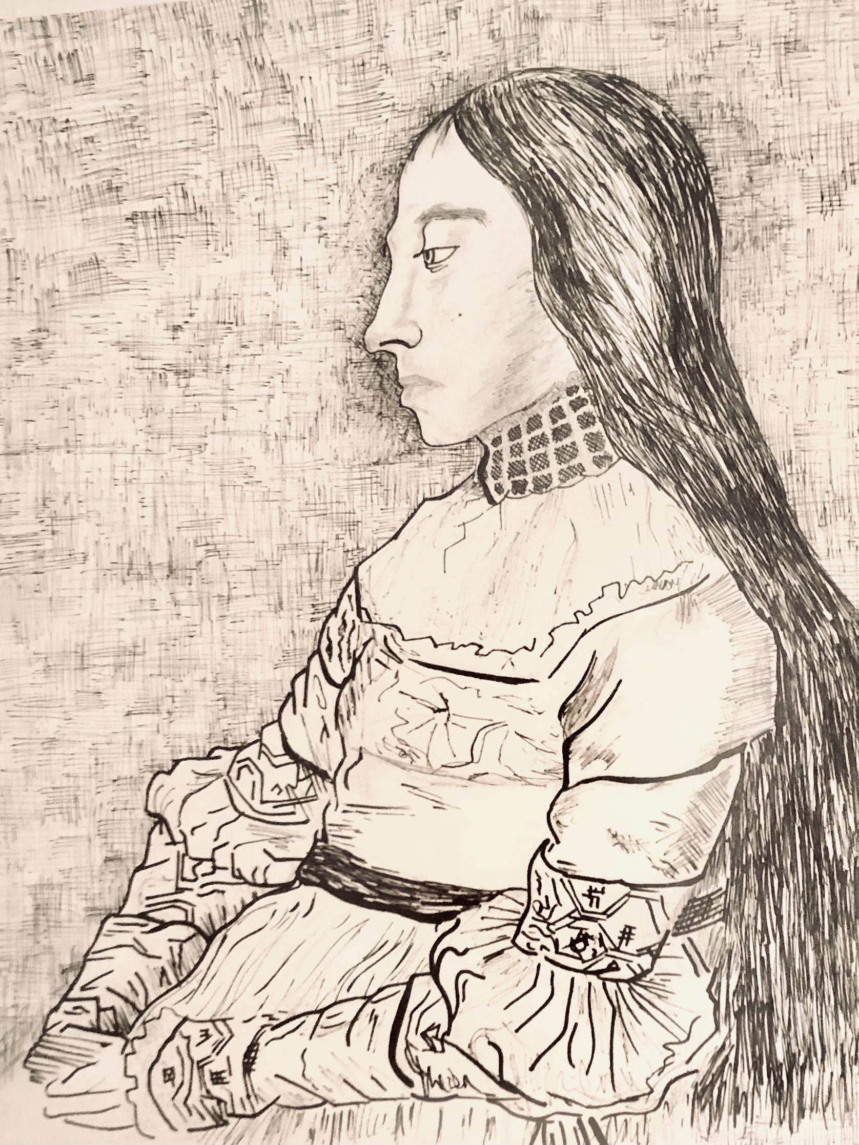 Replica of a Master Sketch