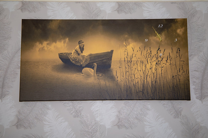 Lady in the boat