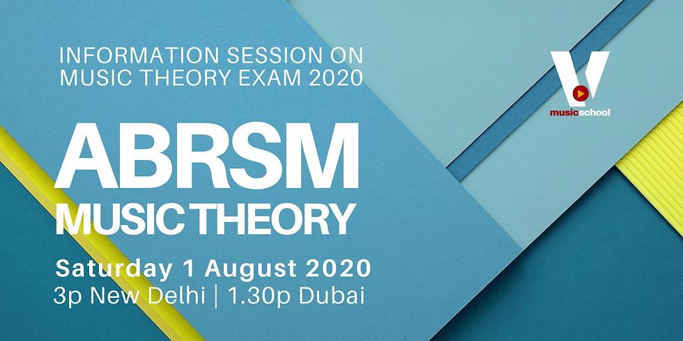 Music Theory & Exam 2020