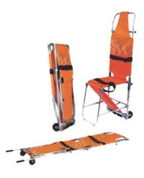 Camilla plegable de aluminio tipo silla HMLF999A2