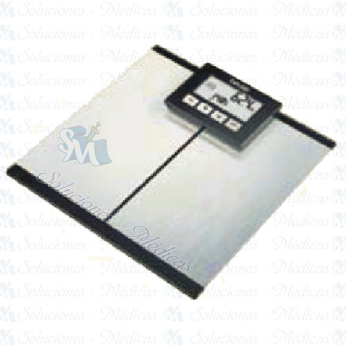 Bascula de diagnostico de vidrio con pantalla LCD