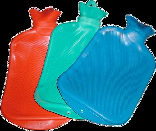 Bolsa de agua caliente con tapa reforzada