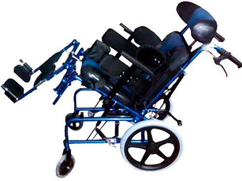 Silla de ruedas de aluminio PCI para niños