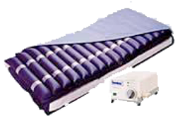 Colchón de aire antidecubico tubular con compresor