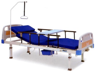 Cama manual con colchón seccionado modeloH-QYJ-300