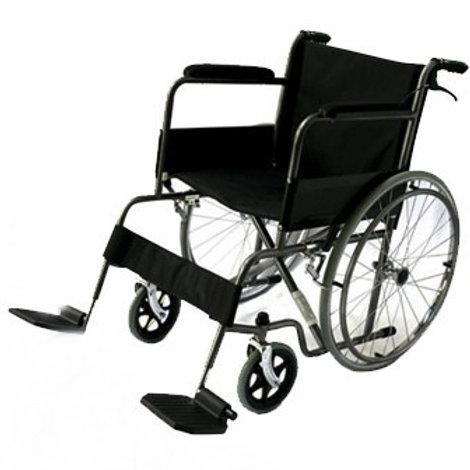 Silla de ruedas de acero esmaltado modeloHC-ECG900