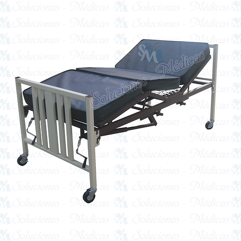 Cama hospital manual 2Manivela ruedas modelo. MM-CMA4