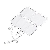 Electrodos y cable para tens digital dual