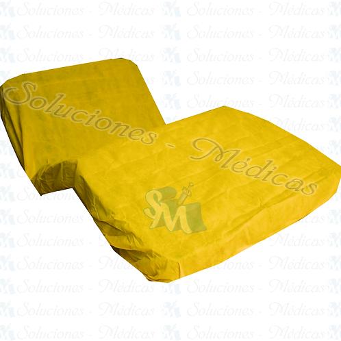 Funda antibacterial y repelente para cama hospital