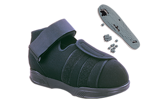 Zapatos de descarga post-operatoria