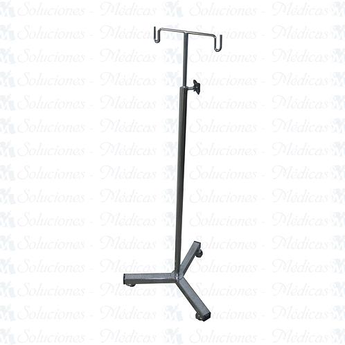 Porta suero rodable (venoclisis) tripie MMPST01