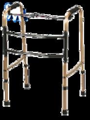 Andadera Reciproca de Aluminio anodizado