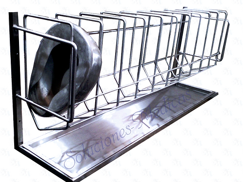 Anaquel porta cómodos de 10 divisiones MM-APC2
