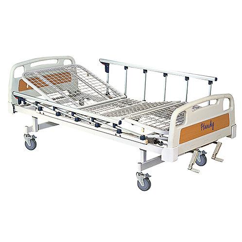 Cama para hospital Manual 2 manivelas para elevar Respaldo y Rodillas K-C3020