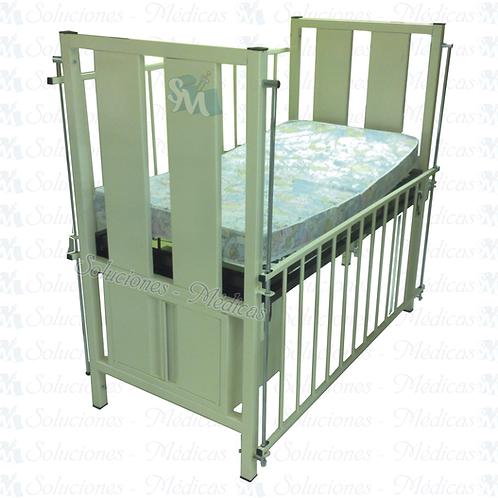 Cuna con colchón 70 x 132 cm modelo MM-CUC2