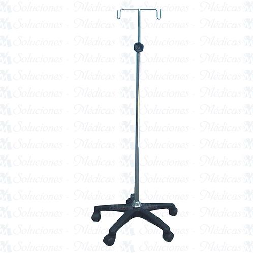 Porta suero rodable (venoclisis) pentapie MMPSC01