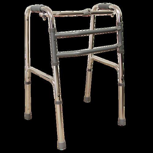 Andadera de aluminio reciproca plegable
