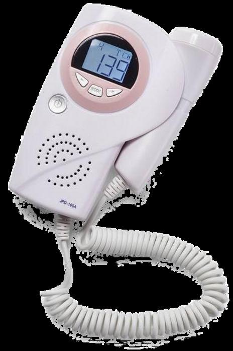 Doppler Fetal Portátil con Pantalla LCD