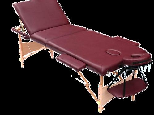 Mesa para masajes 3 secciones con levanta piernas HC-M012A