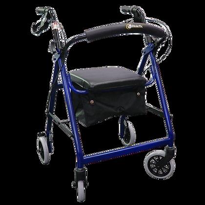 Andadera rollator de aluminio para adulto