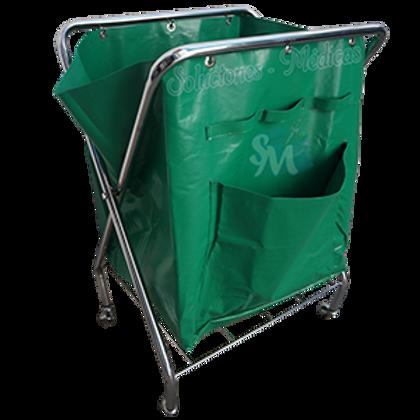 Carro tánico de tijera con bolsa de lona MM-CTA2