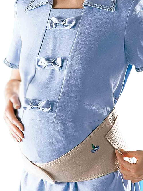 Faja de maternidad ajustable con velcro