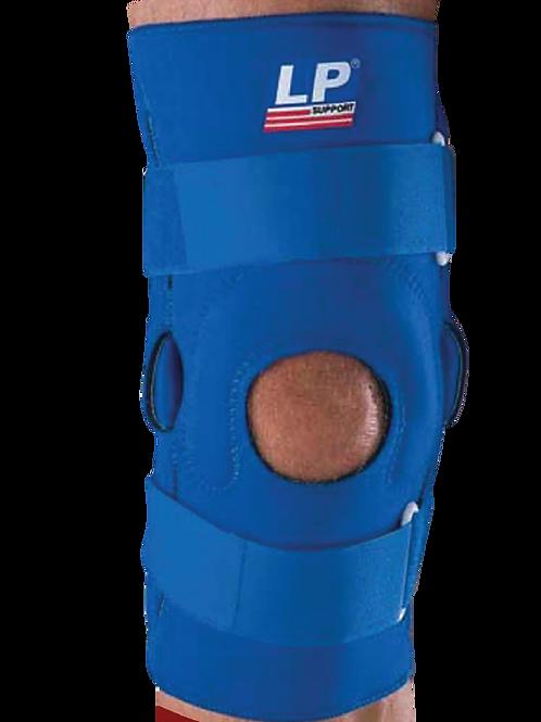 Estabilizador de rodilla con varilla y almohadilla