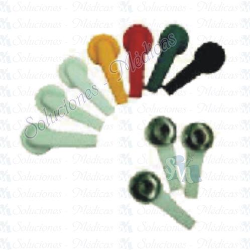 Electrodos para electrocardiógrafo modeloM100