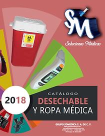Catálogo con precios de Desechable y Ropa Médica