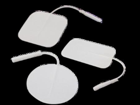 Electrodos de gel auto adheribles rectángulo