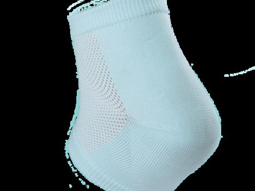 Calcetín con talonera de gel reduce dolor
