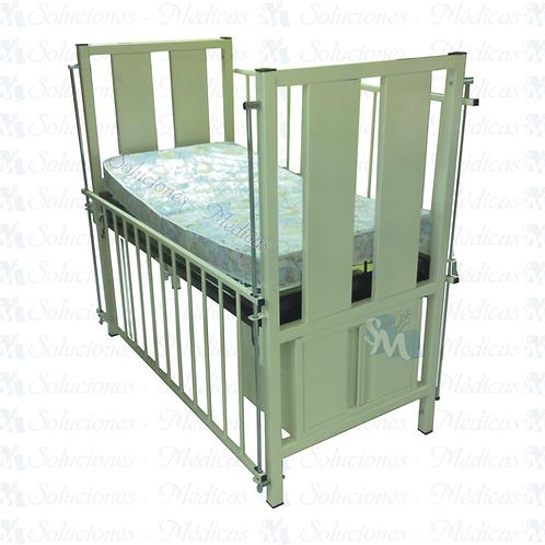 Cuna con colchón 60 x 112 cm modelo MM-CUC1