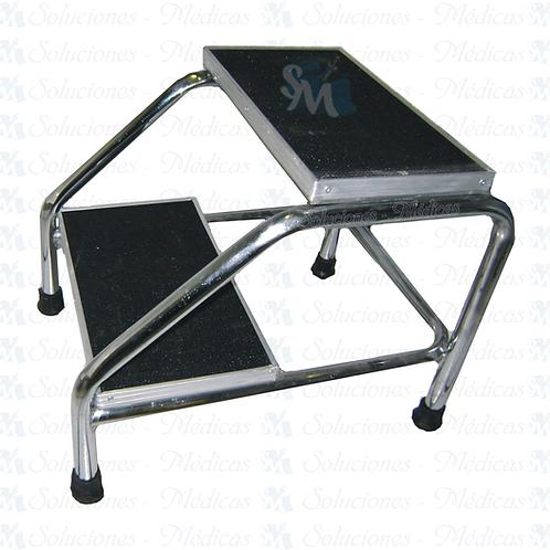 Banqueta escalerilla de altura 2 peldaños MM-ESC2