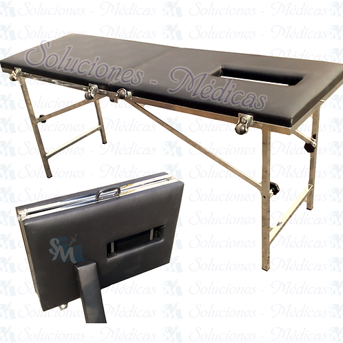 Cheslón para masaje portátil modelo MM-CHM2